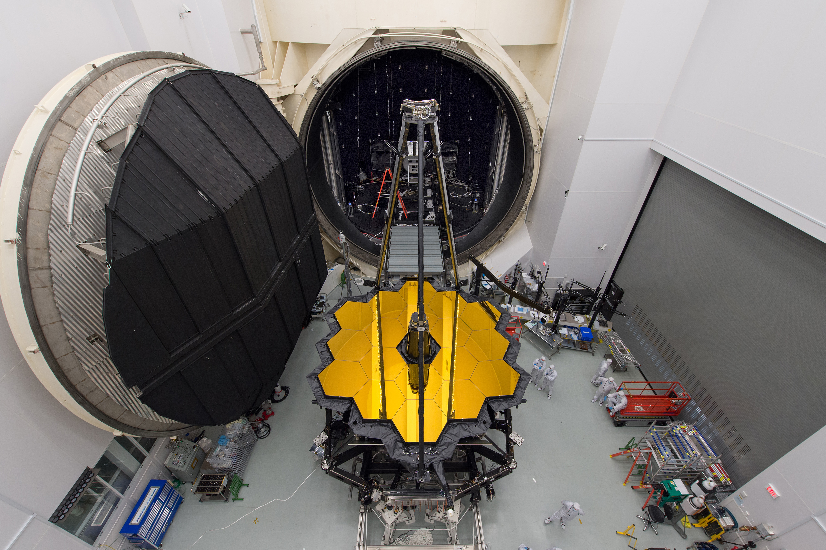 NASA Image of the Day: Webb Telescope Set for Testing in Space Simulation Chamber